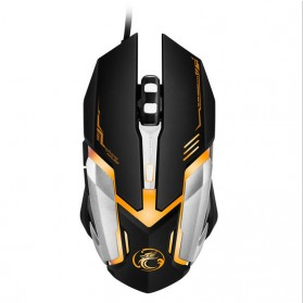 iMice V6 Gaming Mouse RGB LED 4800DPI - Black - 1