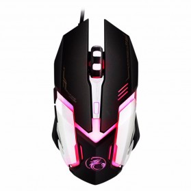 iMice V6 Gaming Mouse RGB LED 4800DPI - Black - 3