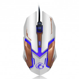 iMice V6 Gaming Mouse RGB LED 4800DPI - White