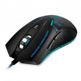 iMice X8 Gaming Mouse Ergonomic RGB LED 3200DPI - Black - 2