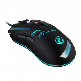 iMice X8 Gaming Mouse Ergonomic RGB LED 3200DPI - Black - 3