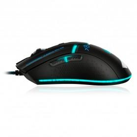 iMice X8 Gaming Mouse Ergonomic RGB LED 3200DPI - Black - 5