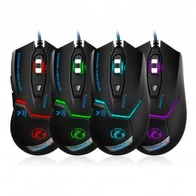 iMice X8 Gaming Mouse Ergonomic RGB LED 3200DPI - Black - 6