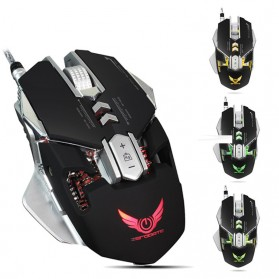 Wired Gaming Mouse Optical 3200 DPI - Black