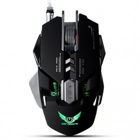 Wired Gaming Mouse Optical 3200 DPI - Black - 2