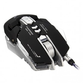 Wired Gaming Mouse Optical 3200 DPI - Black - 3