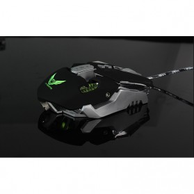 Wired Gaming Mouse Optical 3200 DPI - Black - 10