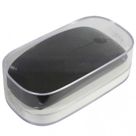Wireless Ultra-thin Laser Optical Magic Mouse 2.4GHz - Black - 5