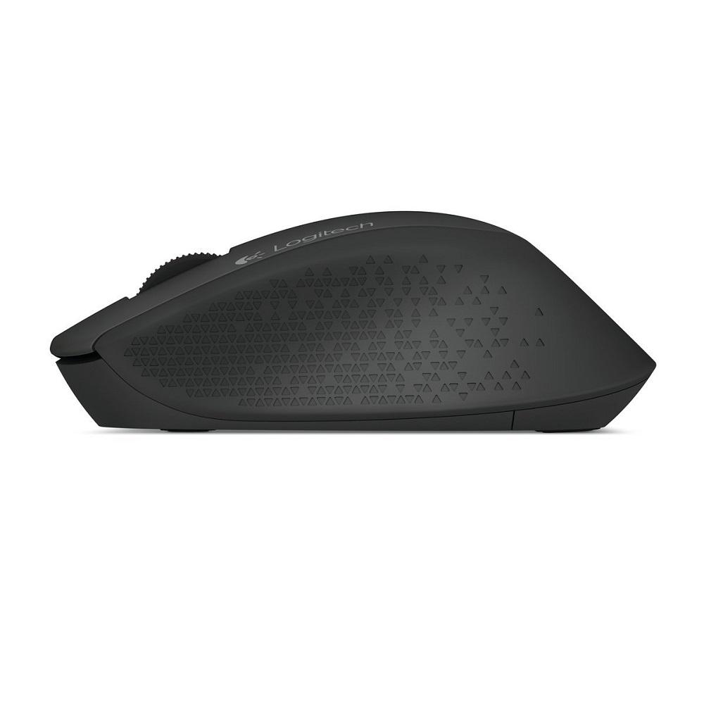 Logitech M280 Wireless Mouse Black Keyboard Mk235 Combo Hitam 5