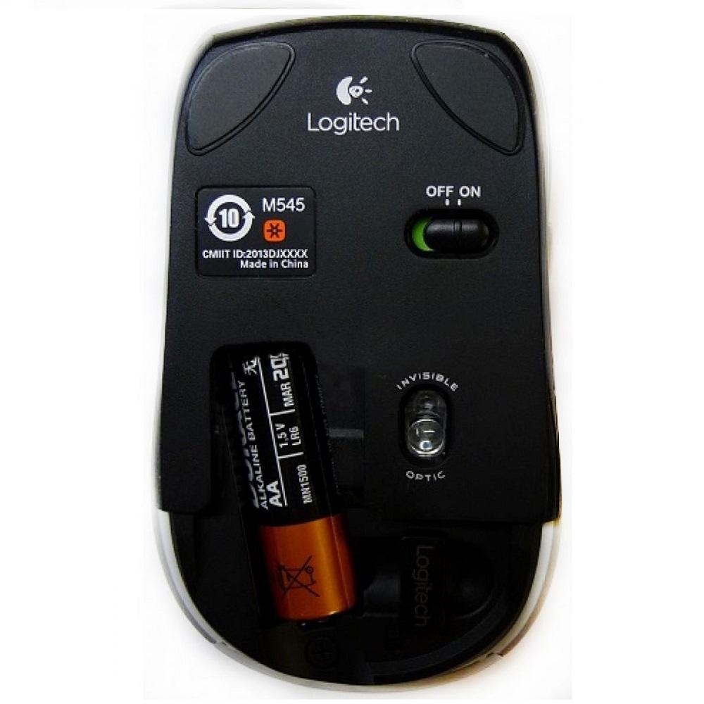 Logitech Wireless Mini Mouse M545 Black Kabel Listrik 2x15 40 Meter 4