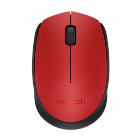 Logitech Wireless Mouse - M171 - Red
