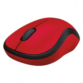 Logitech Silent Plus Wireless Mouse - M221 - Red - 3