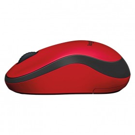 Logitech Silent Plus Wireless Mouse - M221 - Red - 4