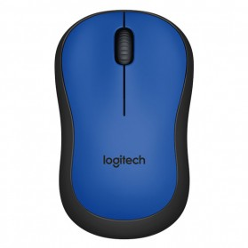 Logitech Silent Plus Wireless Mouse - M221 - Blue