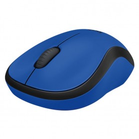 Logitech Silent Plus Wireless Mouse - M221 - Blue - 3