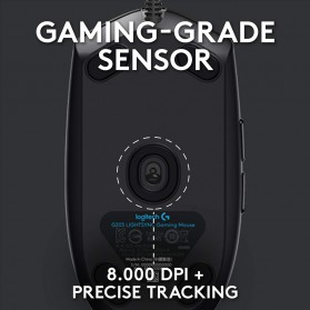 Logitech Lightsync RGB Gaming Mouse - G102 - Black - 3