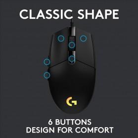 Logitech Lightsync RGB Gaming Mouse - G102 - Black - 4