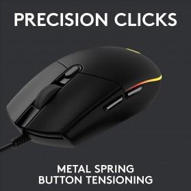 Logitech Lightsync RGB Gaming Mouse - G102 - Black - 5