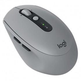 Logitech Silent Wireless Mouse - M590 - Gray - 2