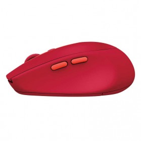 Logitech Silent Wireless Mouse - M590 - Red - 4