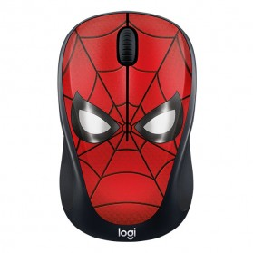 Logitech Marvel Collection Wireless Mouse - M238 - Black/Red