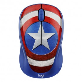 Logitech Marvel Collection Wireless Mouse - M238 - Blue