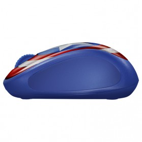 Logitech Marvel Collection Wireless Mouse - M238 - Blue - 3