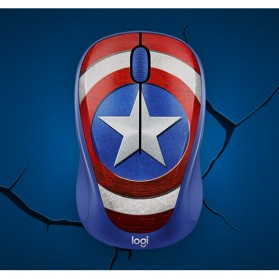 Logitech Marvel Collection Wireless Mouse - M238 - Blue - 4
