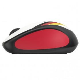 Logitech Nation Flag Bendera Negara Collection Wireless Mouse - M238 - Black/Red - 3