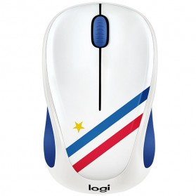 Logitech Nation Flag Bendera Negara Collection Wireless Mouse - M238 - Blue/White