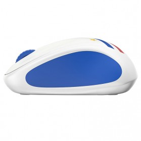 Logitech Nation Flag Collection Wireless Mouse - M238 - Blue/White - 3