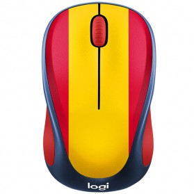 Logitech Nation Flag Bendera Negara Collection Wireless Mouse - M238 - Red/Yellow