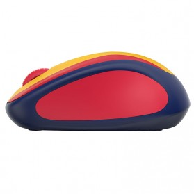 Logitech Nation Flag Bendera Negara Collection Wireless Mouse - M238 - Red/Yellow - 3