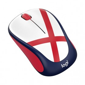 Logitech Nation Flag Collection Wireless Mouse - M238 - Red/White - 2