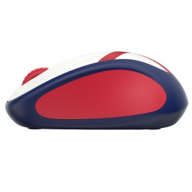 Logitech Nation Flag Bendera Negara Collection Wireless Mouse - M238 - Red/White - 3