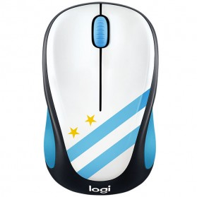 Logitech Nation Flag Bendera Negara Collection Wireless Mouse - M238 - Blue