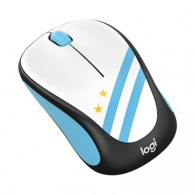Logitech Nation Flag Collection Wireless Mouse - M238 - Blue - 2