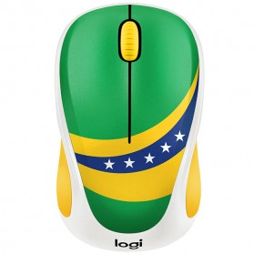 Logitech Nation Flag Bendera Negara Collection Wireless Mouse - M238 - Green