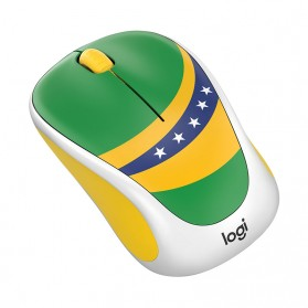 Logitech Nation Flag Collection Wireless Mouse - M238 - Green - 2