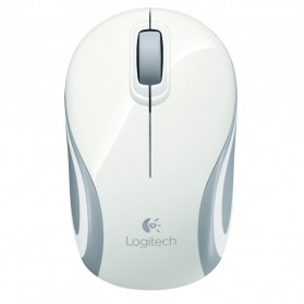 Logitech Wireless Mini Mouse - M187 - White