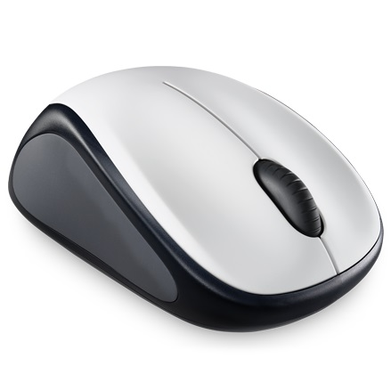 Logitech Wireless Mouse - M235 - Silver