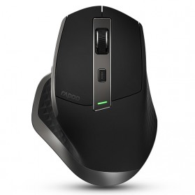 Rapoo Mouse Gaming Multi Mode Wireless Bluetooth 4.0 - MT750 - Black