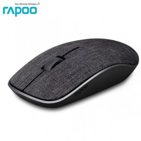 Laptop / Notebook - Rapoo Mouse Gaming Wireless Fabric Material - 3500 Pro - Black