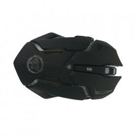 AZZOR Wireless Gaming Mouse RGB 7 Color 2000 DPI - D9 - Black