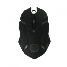 AZZOR Wireless Gaming Mouse RGB 7 Color 2000 DPI - D9 - Black - 4