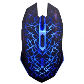 AZZOR Wireless Gaming Mouse Silent 2400 DPI - M6 - Blue
