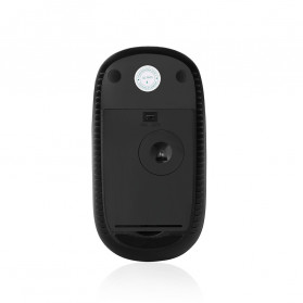 Jelly Comb Super Slim Silent Optical Wireless Mouse 2.4GHz - CP001497 - Black/Silver - 7