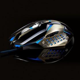 Leopard Mouse Gaming LED RGB 3200 DPI - T03 - Black - 2