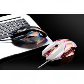 Leopard Mouse Gaming LED RGB 3200 DPI - T03 - Black - 3