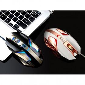 Leopard Mouse Gaming LED RGB 3200 DPI - T03 - Black - 4